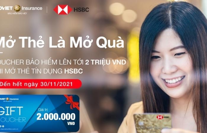Bảo hiểm Bảo Việt dành tặng khách hàng HSBC món quà bảo hiểm giá 0 đồng