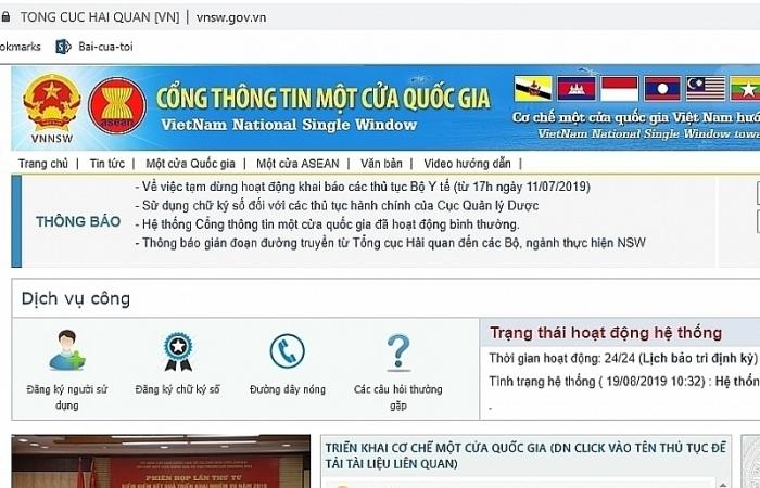 Cấp chứng thư thủy sản sống XK sang Trung Quốc qua Cơ chế một cửa quốc gia