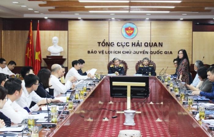 Công ty CMC trình bày giải pháp về công nghệ thông tin trước lãnh đạo Tổng cục Hải quan