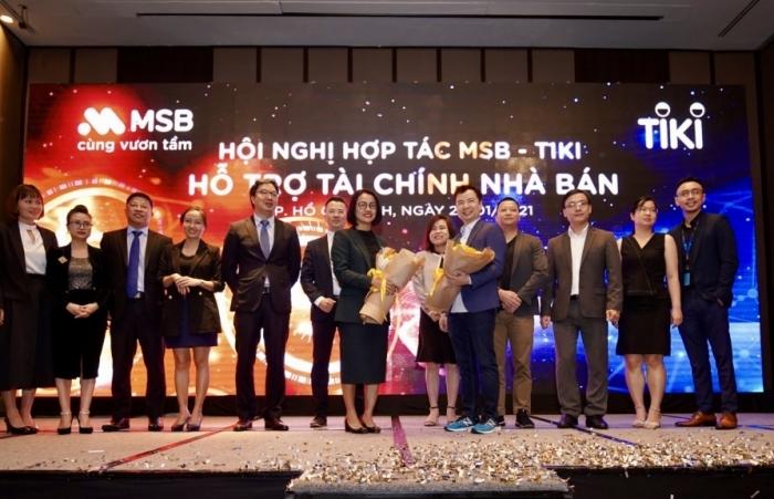 MSB và TIKI hợp tác phát triển dịch vụ tài chính ngân hàng