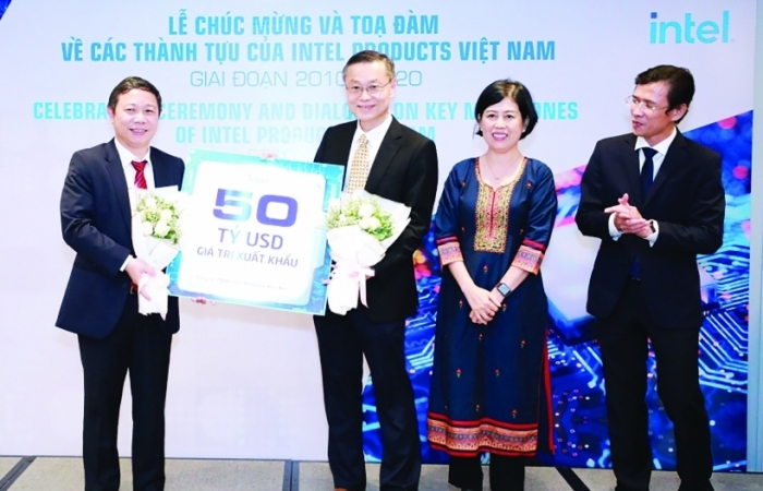 Intel Việt Nam và mốc xuất khẩu 3 tỷ sản phẩm