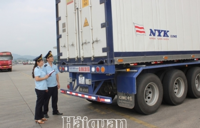 Chấm dứt hoạt động 4 địa điểm kiểm tra hàng hóa tại Lào Cai
