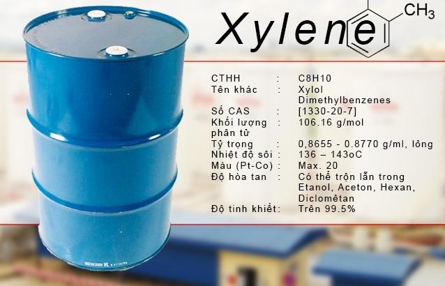 Mặt hàng Xylene xuất bán cho DN chế xuất không chịu thuế XK