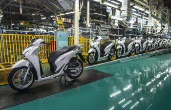 25 năm thành lập Honda Việt Nam xuất khẩu 2,4 tỷ USD linh kiện xe máy