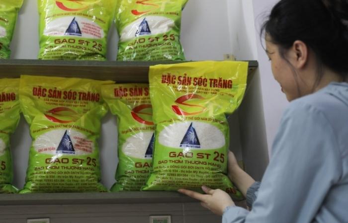 Sau Mỹ, gạo ST25  lại bị doanh nghiệp Australia đăng ký nhãn hiệu